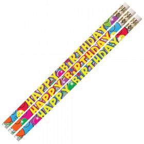 Birthday Bash Motivational/Fun Pencil, Pack of 12
