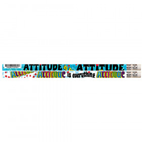Attitude Is Everything Motivational Pencils, 12/pkg