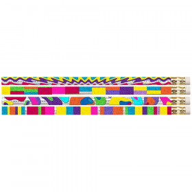 Watercolors Motivational/Fun Pencils, 12/pkg