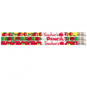 Teacher's Pencil Motivational Pencils, 12/pkg