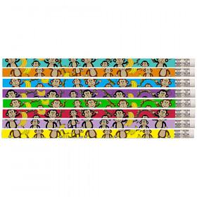 Dancin' Monkey Motivational Pencil, Pack of 12