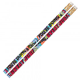 You're Doing A Great Job Motivational Pencils, 12/pkg