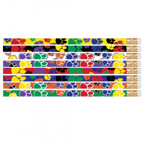 Paw Power Motivational Pencil, Pack of 12