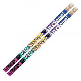 Pawsitively Awesome Motivational Pencil, Pack of 12
