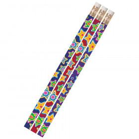 Mad About Stars 1Dz Pencils