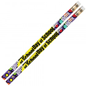 100th Day Of School Motivational Pencils, 12/pkg