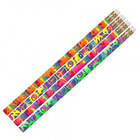 Peace Motivational Pencil, Pack of 12