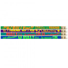 No Bullying Motivational Pencils, 12/pkg