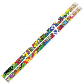 Super-Duper Heroes Motivational Pencil, Pack of 12