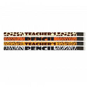 Safari Teacher Pencils, Pack of 12