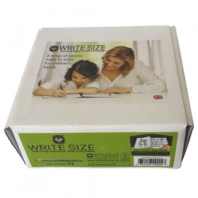"""Write Size Pencils, 4""""L (Ages 3-6), 72 count box"""