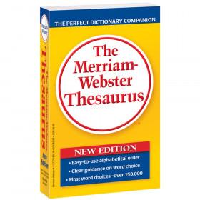 Merriam Websters Thesaurus Paperbck