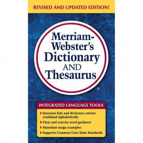 Merriam Websters Dictionary & Thesaurus Paperback