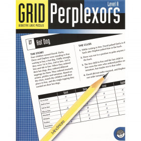 Grid Perplexors Book, Level A, Ages 9-10