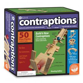 KEVA Contraptions Plank Building Set, 50 Pieces