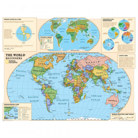 National Geographic Beginners Series World Map