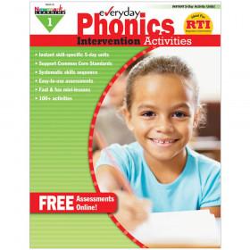 Everyday Intervention Activities for Phonics, Grade 1