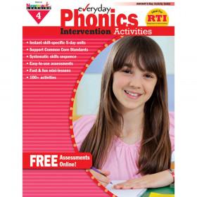 Everyday Phonics Gr 4 Intervention Activities