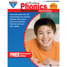 Everyday Phonics Gr 5 Intervention Activities