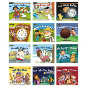 Nursery Rhyme Tales Content-Area Leveled Reader, English, Set of 12