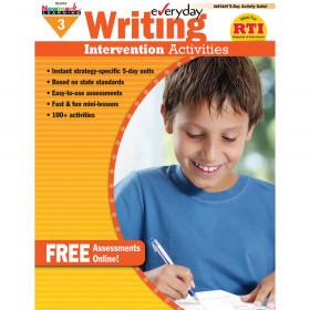 Everyday Writing Gr 3 Intervention Activities