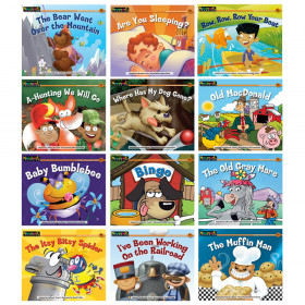 Rising Readers Leveled Books Nursery Rhyme Songs & Stories 12