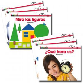 En Espanol Sight Word Readers Math Set Of 16