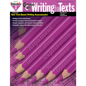 Common Core Writing To Text Gr 2 Book
