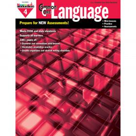 Common Core Practice Language Gr 4 Book