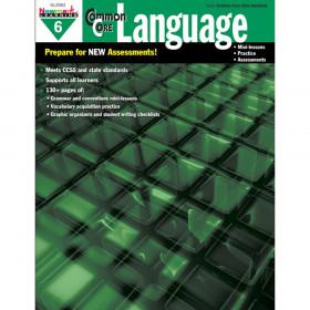 Common Core Practice Language Book, Grade 6