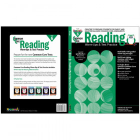 Common Core Reading: Warm-Ups & Test Practice, Grade 6