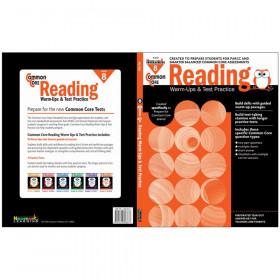 Common Core Reading: Warm-Ups & Test Practice, Grade 8