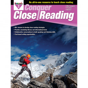 Conquer Close Reading, Grade 2