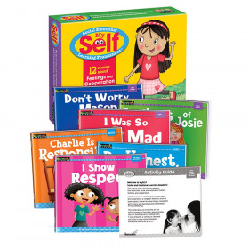 Myself Feelings And Cooperation Early Readers Boxed St