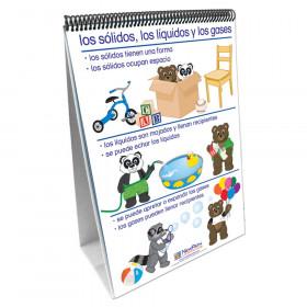 Exploring Matter Curriculum Mastery Flip Chart Set, Age 5 to 8, Spanish