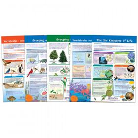 The Six Kingdoms Bulletin Board Charts, Set of 5