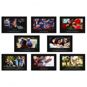 Core Democratic Values Bulletin Board Set