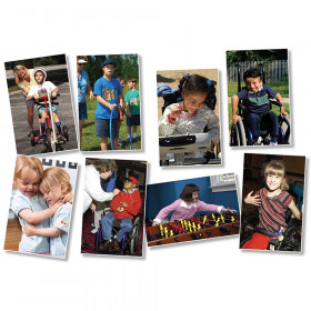 All Kinds of Kids: Differing Abilities Bulletin Board Set