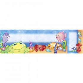 """Under the Sea Seat & Cubby Sign, 3"""" x 2"""", 36/pkg"""