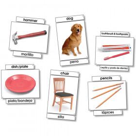 Basic Vocabulary Language Cards, 31/pkg