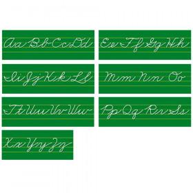 Alphabet Lines Traditional Cursive