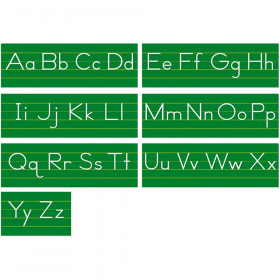 Traditional Manuscript Alphabet Line