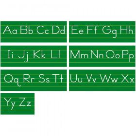 Alphabet Lines Traditional Manuscript Bulletin Board Set