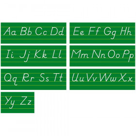 Alphabet Lines Modern Manuscript Bulletin Board Set
