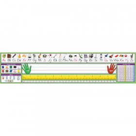 Modern Manuscript Desk Plate 17-1/2 X 4 36Pk
