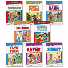 Poetry Builders, Grades 2-4, Set of 8 Books