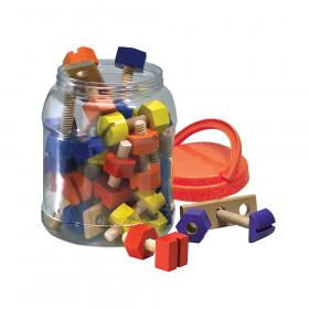 Nuts & Bolts Building Set, 40 Pieces