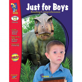 Just For Boys Reading Comprehension Gr 1-3