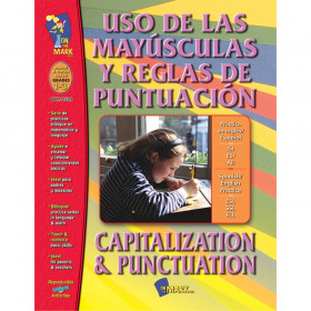 Uso de las Mayusculas y Reglas de Puntuacion/Capitalization & Punctuation, Grades 1-3