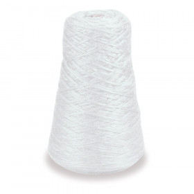 4-Ply Double Weight Rug Yarn Refill Cone, White, 8 oz., 315 Yards